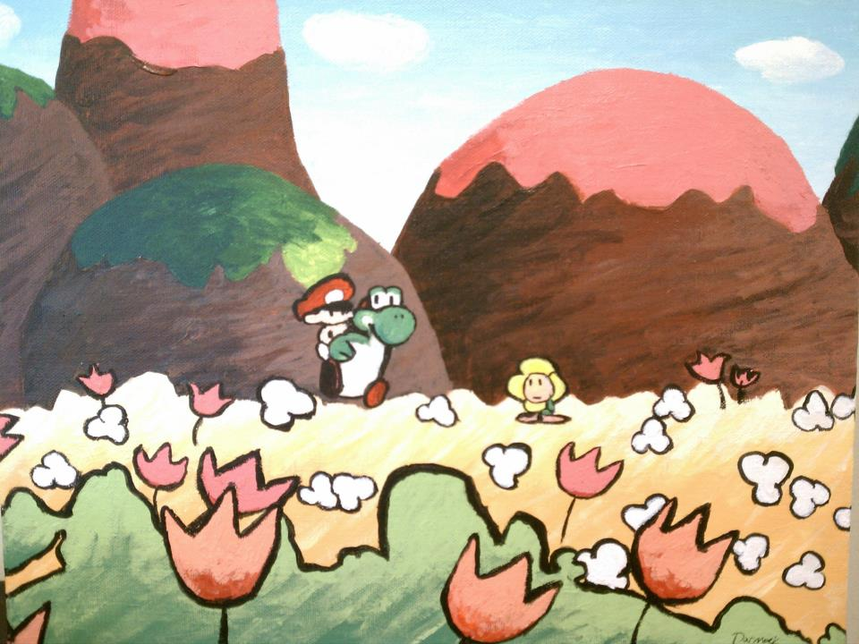 Flowers for Yoshi