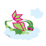 Flygon Sleeping